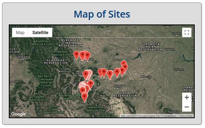 Map of Sites